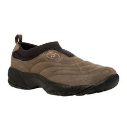 Propet Mens Wash & Wear Slip On II Suede Shoes