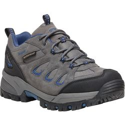 Propet USA Mens RidgeWalker Low Grey Shoes