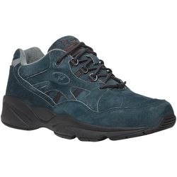 Propet USA Mens Stability Walker Suede Shoes