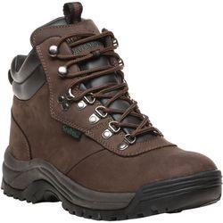 Propet USA Mens Cliff Walker Nubuck Lace Up Boots
