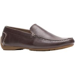 Hush Puppies Mens Schnauzer Leather Loafers