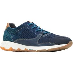 Hush Puppies Mens YS Field Knit Lace Sneakers