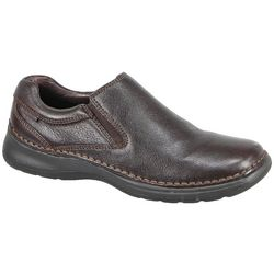 Hush Puppies Mens Lunar II Leather Shoes