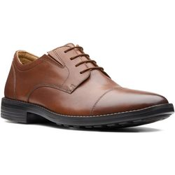 Mens Birkett Cap Oxford Shoes