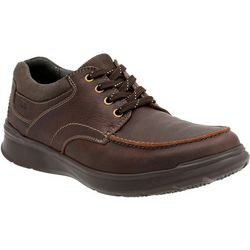 Clarks Mens Contrell Edge Lace Up Shoes