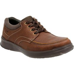 Clarks Mens Cotrell Edge Smooth Oxfords