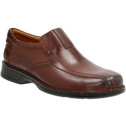 Clarks Mens Escalade Step Loafers