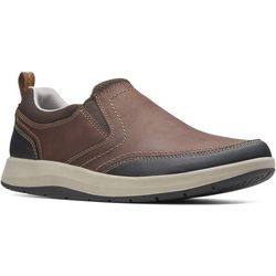 Clarks Mens Shoda Race II Slip On Shoes