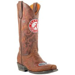 Gameday BAMA Crimson Tide Mens Cowboy Boots