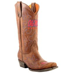 Gameday Ole Miss Rebels Mens Cowboy Boots