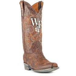 Gameday Boots Demon Deacons Mens Cowboy Boots
