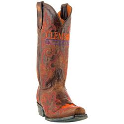 Gameday Clemson Tigers Mens Cowboy Boots