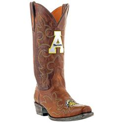 Gameday Appalachian State Mens Cowboy Boots