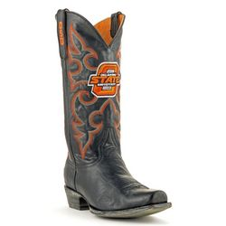 Gameday Oklahoma State Mens Boardroom Boots