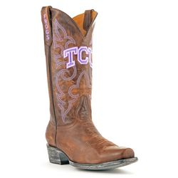 Gameday Texas Christian Mens Boardroom Boots