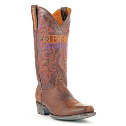 Gameday Boots Clemson Tigers Mens Boardroom Boots