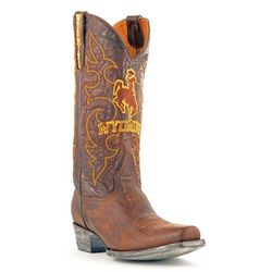 Gameday Boots Wyoming Cowboys Mens Boardroom Boots
