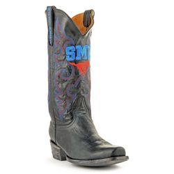 Gameday Southern Methodist Mens Boardroom Boots