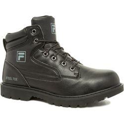 Mens Landing Steel Black Work Boots