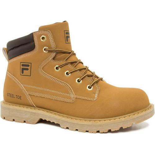 b42ece6f2a Fila Mens Landing Steel Work Boots