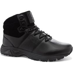 Fila Mens Memory Breach Slip Resistant Work Boots