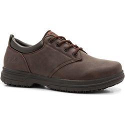 Mens Memory Blake Work Shoes
