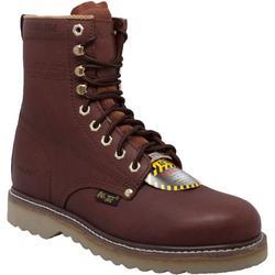 Mens 8'' Steel Toe Farm Boots