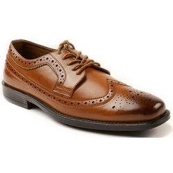 Deer Stags Mens Taylor Wing Tip Dress Shoes