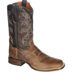 Mens Genuine Leather Franklin Cowboy Boots