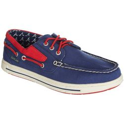 Atlanta Braves Mens Boat Shoes by Eastland