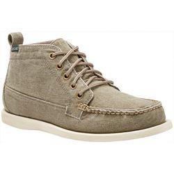 Eastland Mens Seneca Canvas Ankle Boots
