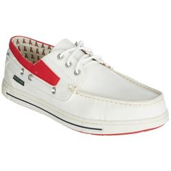 Los Angeles Angels Mens Boat Shoes by Eastland