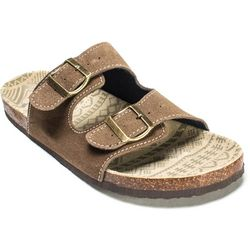 Muk Luks Mens Parker Duo Strapped Sandals