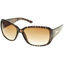 Nine West Womens Plastic Mod Square Sunglasses
