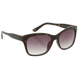 Dockers Womens Tortoise Shell Brown Square Sunglasses