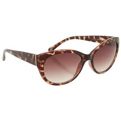 Dockers Womens Tortoise Brown Cateye Sunglasses