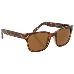 Dockers Womens Square Tortoise Brown Sunglasses