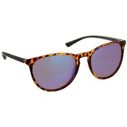 Reel Legends Womens Blue & Tortoise Brown Sunglasses
