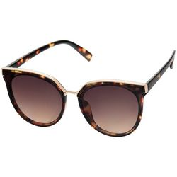 Steve Madden Womens Tortois Cateye Sunglasses