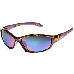 Reel Legends Womens Sport Violet Sunglasses