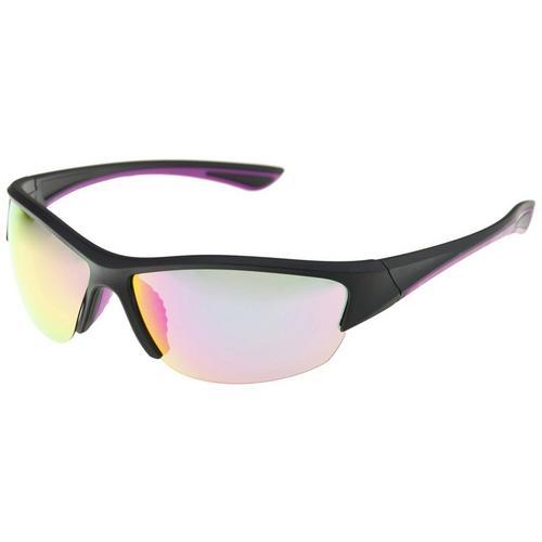 2e808cc306a3 Reel Legends Womens Multi-Colored Sport Wrap Sunglasses