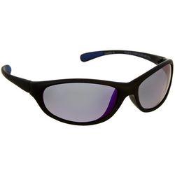 Reel Legends Womens Black Oval Sunglasses