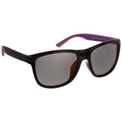 Reel Legends Womens Black & Purple Polarized Sunglasses