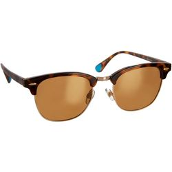 Reel Legends Mens Tortoise Clubmaster Sunglasses