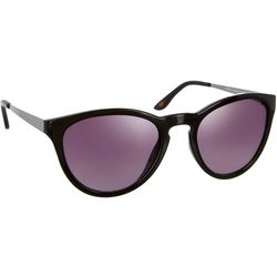 Dockers Womens Matte Metal Arm Cat-Eye Sunglasses
