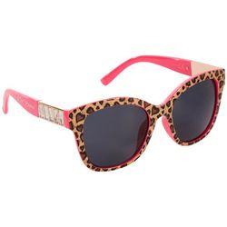 Betsey Johnson Womens Cheetah Ridged Sunglasses