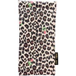 Womens Leopard & Floral Print Eyewear Case
