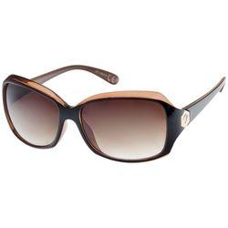 Bay Studio Womens Bronze & Black Sunglasses