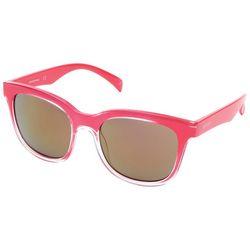 Skechers Womens Plastic Bright Pink Sunglasses
