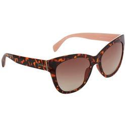 Womens Plastic Cat Eye Sunglasses